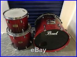 Pearl Session Custom 3pc Maple Drum Set kit
