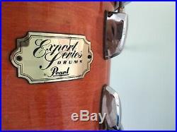 Pearl export series drum set