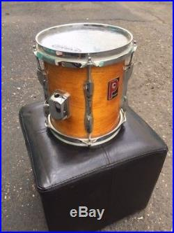Premier Drum Set Vintage Stained ash color. Full kit ready to rock