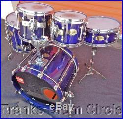Premier Signia 5pc Drum Set Blue Sapphire Jazz Sizes (10 12 14 20 14)