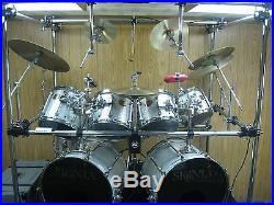 Premier Signia Maple Double Drum Set