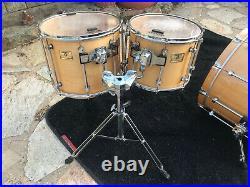 Premier Signia Marquis 5pc Drum Set kit Natural