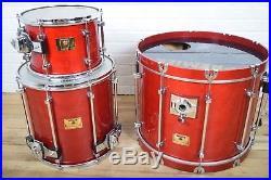 Premier Signia Marquis maple drum set kit Excellent! -used drums for sale