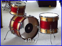 Premier Soundwave Drum Set 1978 22 13 16 Diecast Hoops