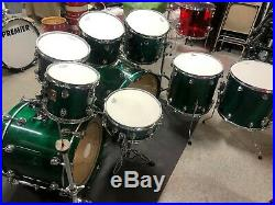 Premier Vintage Genista monster 9 piece drum set