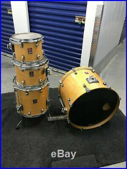 Premier XPK Drum Kit Natural 4pc Drum Set Kit