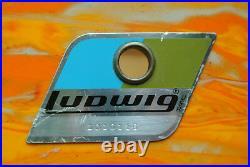 RARE 1970's Ludwig 14 MOD ORANGE RACK or RIDE TOM for YOUR DRUM SET! LOT #D271
