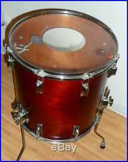 RARE 70's Vintage TAMA Superstar 8 Piece Drum Set Satin Mahogany Great Condition