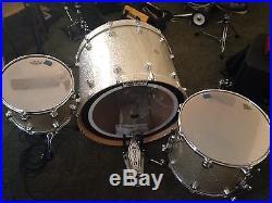 Rare Dw Drum Set 28 Bass Kick Drum Great Condition
