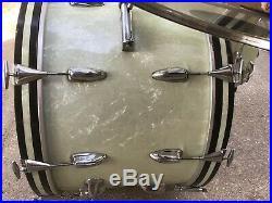 Rare 1963 Slingerland Gene Krupa Deluxe Model Drum Set! No Modifications