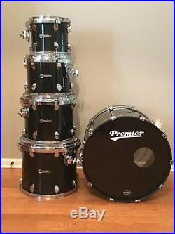 Rare Premier Elite Series Drum Set Gen-X 10, 12, 14 16 toms 22 Bass