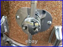 Roger Holiday Londoner Drum set 12 13 16 20 Champagne Sparkle Dayton 1968