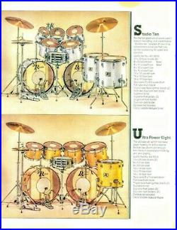 Rogers 7 drum set with Dynasonic snare
