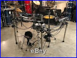 Roland TD-10 Hart Dynamic V-drum Electronic drum set 2up/2down eCymbals #KT8