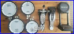 Roland TD 11 KV S Electric Drum Set With Bundle Pearl Bass Pedal Gorilla Hardshell