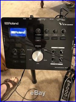 Roland TD-25K V-Drums Set Bundled with Kick Pedal And Hi-Hat Stand