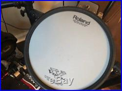 Roland TD-25KV V-Drums Electronic Drum Set with DW High Hat Stand