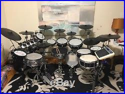 Roland Td 20 Electronic Drum Set Custom With Td 15 And Td 9