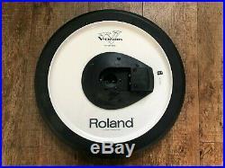 Roland V-Cymbals 3 piece set CY-14C crash (x2), and CY-15R Ride