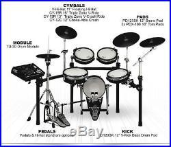 Roland V-Drums V-Pro Series TD-30K-S Electronic Drum Set TD30 PDX-100 KD-120BK