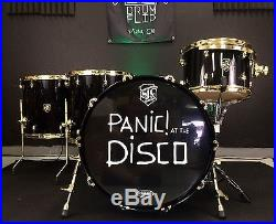 Sjc Custom Drums Panic At The Disco Tour Drum Set Used