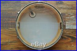 SUPER CLEAN!'71 Ludwig PIONEER SILVER SPARKLE SNARE DRUM for YOUR SET! LOT Z682