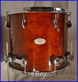 Sakae 22/13/16 Celestial Drum Set Natural Lacquer
