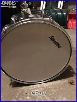 Silvertone Pro Five Piece Drum Set/Kit Package slightly used