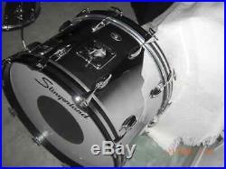 Slingerland 4 pc Chrome Drumset STUNNING MINT COND! 70s Era 5 Ply Maple/Poplar