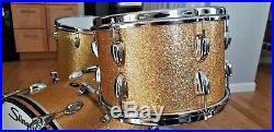 Slingerland Gold Sparkle Drumset 65'-66' Vintage Drumkit