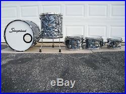Slingerland Studio King 5 pc Drumset Conway Black Diamond Pearl BDP
