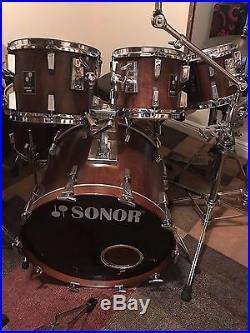 Sonor Lite 7 Piece Drum Set Drums