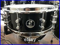 Sonor Special Edition 8, 10, 12, 14, 16, 20, 14x5.5 Birch Black Lacquer Drum Set