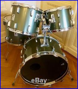 sonor vintage phonic drumset big sizes 24 14 15 16 18 ac dc rock n roll used drum sets. Black Bedroom Furniture Sets. Home Design Ideas