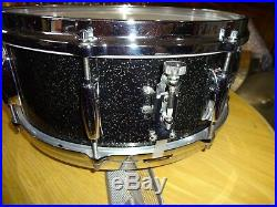 Stunning Beauty Vintage Gretsch Drums Set Snare Drum Anniversary Sparkle Pearl