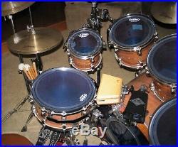 TAMA 2002 Starclassic Exotix KOA / Bubinga Drum Set