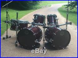 TAMA Starclassic Maple 22/22/16/14/12/10 6 piece Double Bass Drum Set