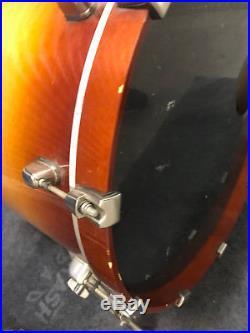 TAMA Starclassic Maple 5PC Drum Set kit Gold Sunburst