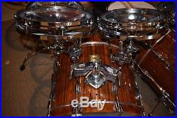 Tama Artstar Cordia Wood Remo Roto Tom Drumset drums 6,8,10,12,14,16,18 with16x24
