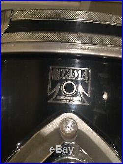 Tama Imperialstar(Japan) 1985 Black Drum Set