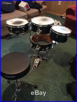 tama silverstar cocktail drum set used drum sets. Black Bedroom Furniture Sets. Home Design Ideas