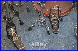 Tama StarClassic Black Star Dust 7pc Bubinga Birch Drum Set Zildjian PICKUP NJ