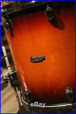 Tama Starclassic Maple 5-piece Dark Cherry Burst Drum Set Used