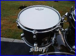 Tama Starclassic Performer Transparent Grey 4-Pc Drum Set Near Pristine