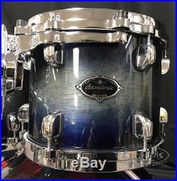 Used Tama Drum Set 4 Piece Starclassic Performer Birch / Bubinga Shell Pack