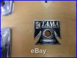 VINTAGE TAMA SUPERSTAR JAZZ DRUMSET 18x14 BASS DRUM MAPLE