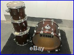 VINTAGE TAMA SUPERSTAR MAHOGANY 4pc Drum Set Kit