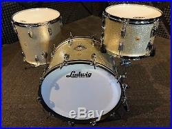 Vintage 1960's Ludwig 13, 16, 22 Super Classic Configuration Players Drum Set