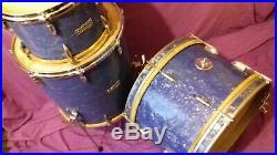 Vintage 1964 Ajax Edgware set 20/12/16 BLUE PEARL with calf heads & sale receipt