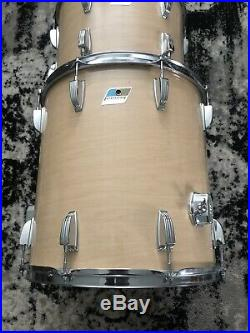 Vintage 1970s Ludwig Maple Cortex Drum Set 3 PLY 13 14 16 22 CLEAN USA Classic